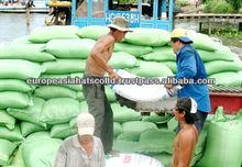 Long grain white rice in Vietnamese