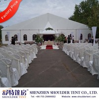 25x50m White Large Marquee Garden Wedding Party Tent for events rental business