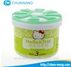 Poppy Custome brand 100g custome Scents gel air fresh/Toilet air freshener gel for home
