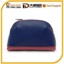 2015 Small Flat Modella Leather Trendy Cosmetic Bag