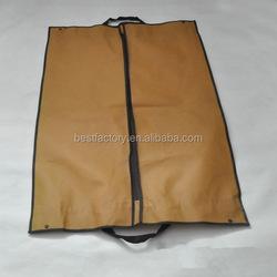 suit cover business bag, zippered suit bag qingdao, small zip lock garment bags