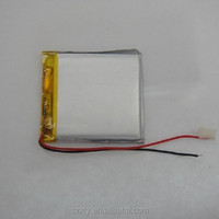 large stock lithium polymer cell high quality factory selling best seller 063035real 600 mah polymer battery