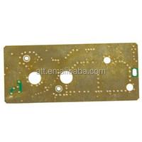 FR4 Printed Circuit Board ,Yellow soldermask For Led lighting