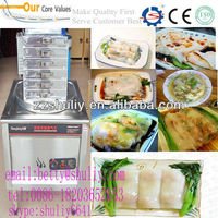 good quality Steamed vermicelli roll machine/rice roll machine