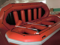 16ft pvc inflatable drifting boat, 12 people river boat, raft boat for sale