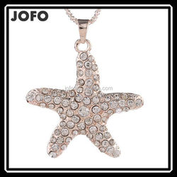 2015 Trendy Necklaces Pendants Link Chain Long Star Bling & Fashion Necklace Women Jewelry