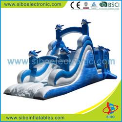 GMIF5403 Frozen giant inflatable bouncy slide for children in 2015