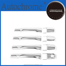 Chrome car trim accent styling gift, Chrome Door Handle Cover - for Mitsubishi Pajero / Shogun 00-05