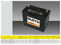 Export High quality 12V NS60 SMF Sealed maintenance free lead acid car battery