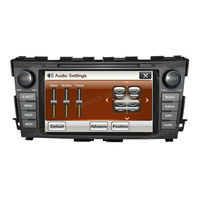 double din car DVD player with built-in GPS/Bluetooth/Audio/Radio/Ipod for Nissan Teana 2013