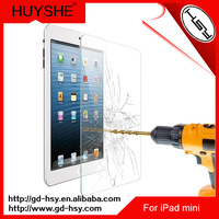 HUYSHE 9h hardness anti-shock tempered screen protector for ipad mini