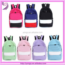 Cheap student back pack fashion school backpacks bag for teenagers
