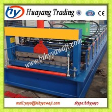 Passed CE and ISO authentication Galvanized Roof Steel Roll Forming Machine