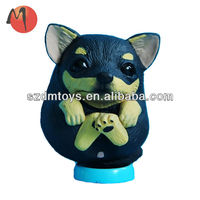 plastic toy animals dog/pvc figurine/small plastic dogs