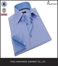 latest fashion design men's office shirts