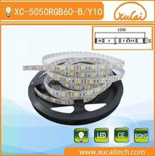 China professional manufacture colorful SMD5050 RGB 12V/24V led flexible strip light
