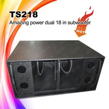 "TS218 Double 18"" 5 Stars Rated Subwoofer , Pro Stage Sound System"