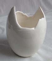 6.7 inch ceramic egg shape flower pot