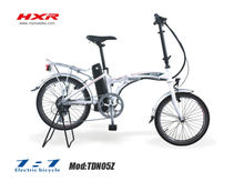 Popular Foldable Electric Bikes with basket and Bag