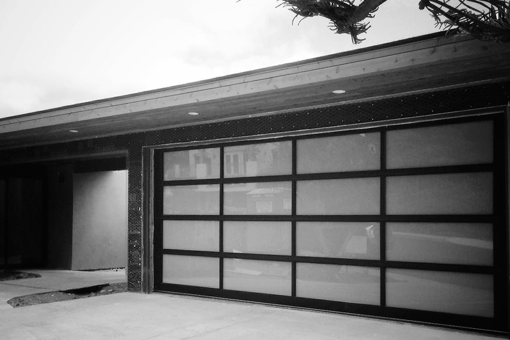 Custom Made Double Frosted Glazing Aluminum Glass Garage Door Prices  Plexiglass Mirror