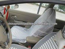 Plastic transparent auto seat cover