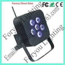 6*10w rgbw 4in1 leds design best selling 4in1 6x10w par light