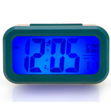 Multi-Color Desktop Digital Clock with Snooze,Alarm clock