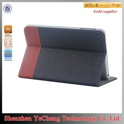 Soft Feel Classic Stand for ipad custom printed tablet case with canvas