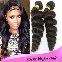 Raw Unprocessed Virgin Peruvian Hair Free Sample Weave Hair