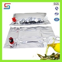 Hot Style Plastic bag in box cooking oil carton packaging
