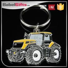Factory direct sale custom metal keyrings with car logo