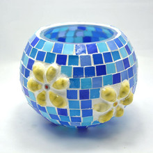 mosaic glass candle holder r warmer decorative ceramic lotus candle holder