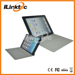 Ultra-slim PU leather case and bluetooth keyboard for ipad mini 2