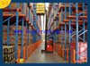 50mm pitch adjustable medium duty pallet rack for storage with simple installation