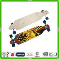China made good quality maple longboard skateboard supplier