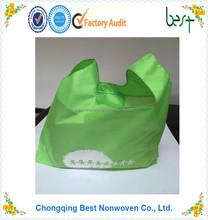 Eco friendly reusable polyester tote bag polyester shopping bag