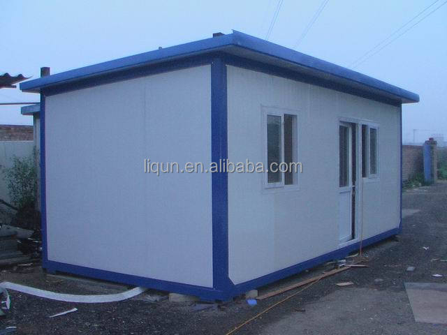Small prefab houses underground container houses modular for Prefabricated underground homes