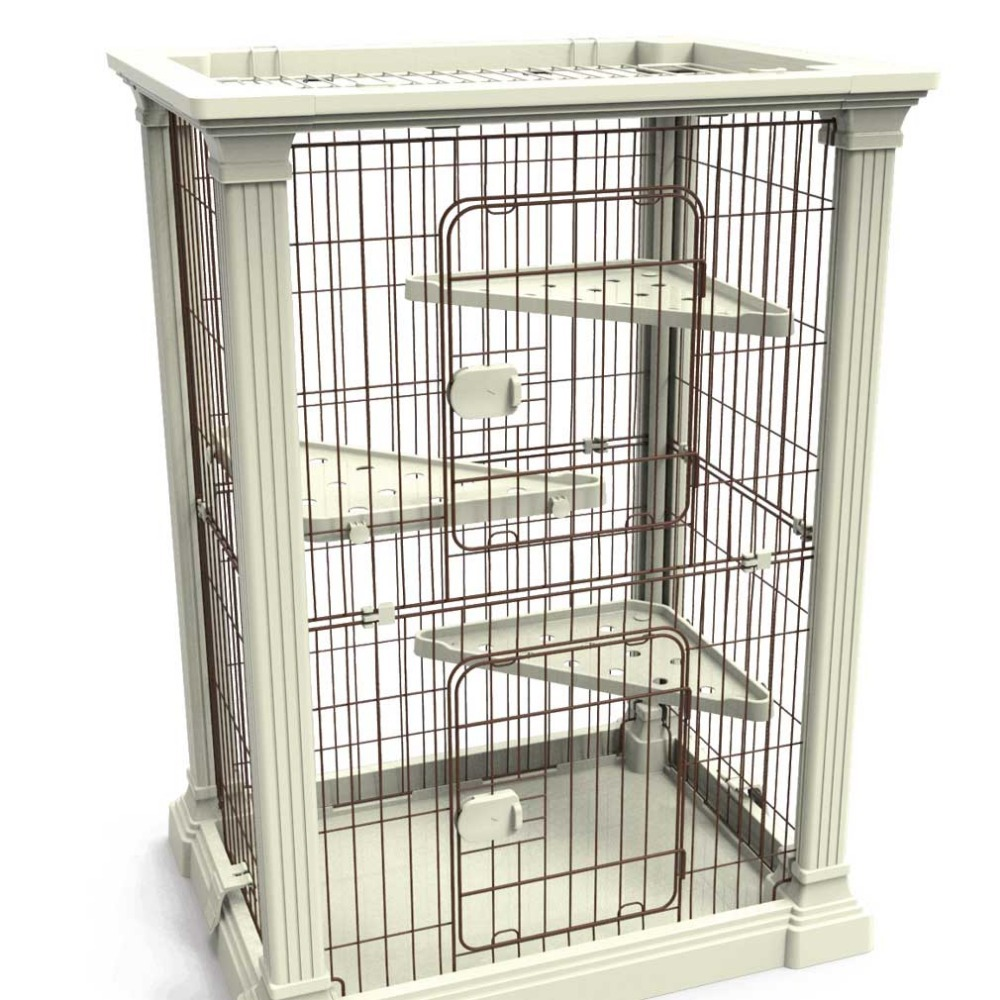Cat cage for sale cheap stainless steel dog cage buy for Cheap c c cages