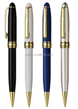 Hotel pen for promotion/Square metal ball pen