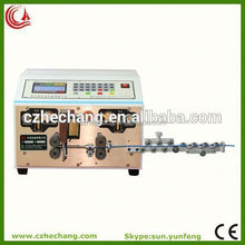 sheathed lines terminal cutting/stripping/crimpping machine