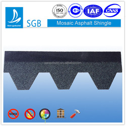 Colored Laminated Asphalt Shingle With Cheaper Price
