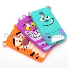3D Cartoon Pattern Design Soft Silicone Back Cover Case for Samsung Galaxy S5 I9600 G900
