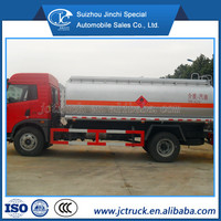 Manual Transmission type and New Condition Faw 15000m3 road diesel tanker factory price