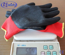 RL safety Yellow Palm Coated Nitrile Working GlovesWith Jersey Interlock Lining