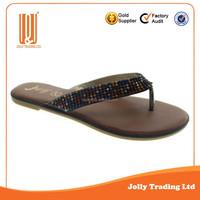 Style women flat sandals design shoe summer sandals sample