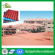 Traditional house roof tile sound insulation synthetic resin tile color roof philippines