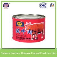 Wholesale new age products beef products canned/cheap canned food curry beef