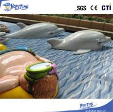 Soft sculpted foam climbing plastic playground equipment ,big kids playground equipment,beach theme playground