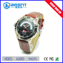 Wholesale china goods HD 1080p hot new design fashion watches camera BS-S13
