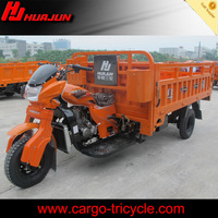 gasoline three wheel motorcycle/tricycle cargo carrier/motorized tricycle
